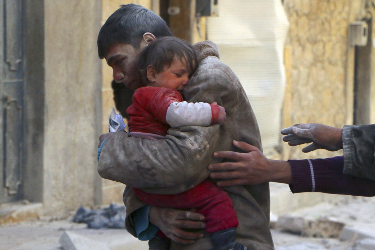 Aleppo's Children Endure Life in Syrian War Zone - NBC News