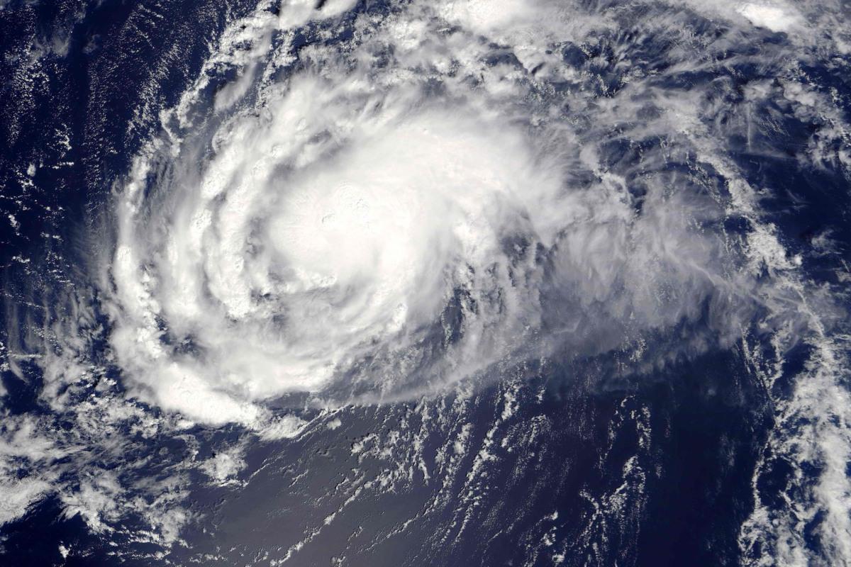 Hurricane Gaston Reforms in Atlantic Ocean - NBC News