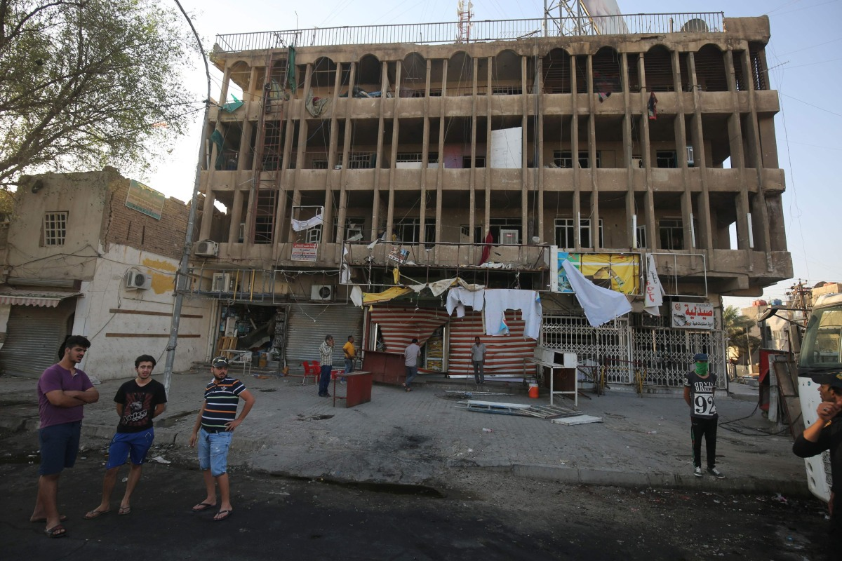 Isis claims credit for suicide bomb that killed 10 in central baghdad nbc news - Credot ilot centraal ...