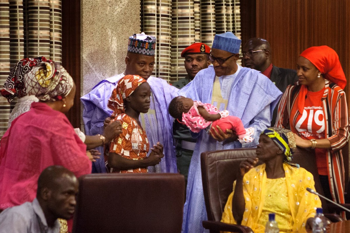 Image: NIGERIA-UNREST-ISLAMISTS-KIDNAPPING-MAIDUGURI