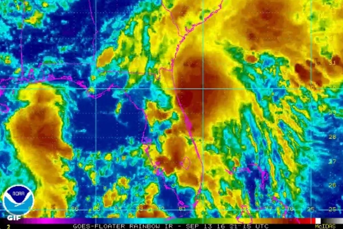 Tropical Storm Julia Drenches Florida; Flash Flood Watches - NBC News