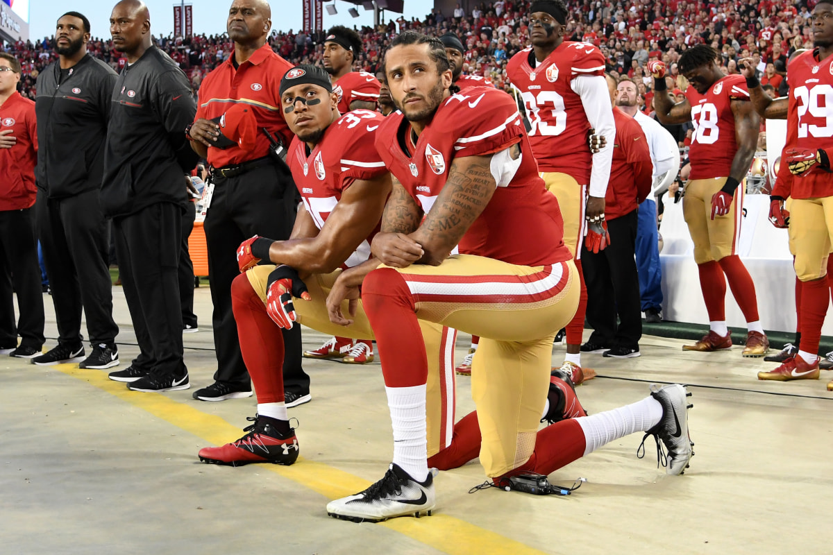 death threats and police killings bolster colin kaepernick s death threats and police killings bolster colin kaepernick s protest nbc news