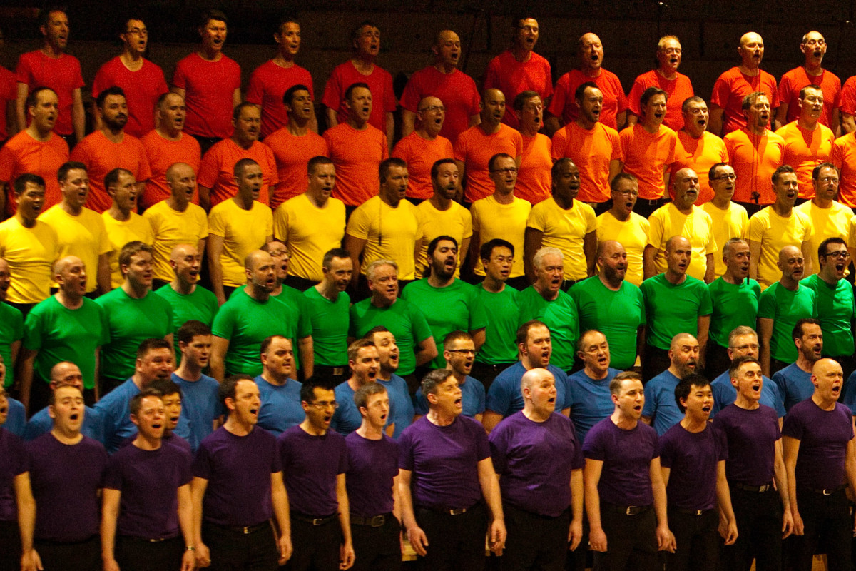 from Robin cleveland gay mens chorus