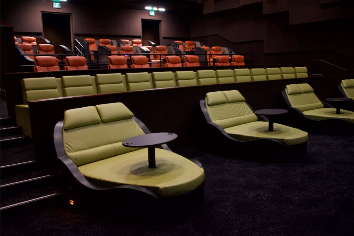 The flicks movie theater