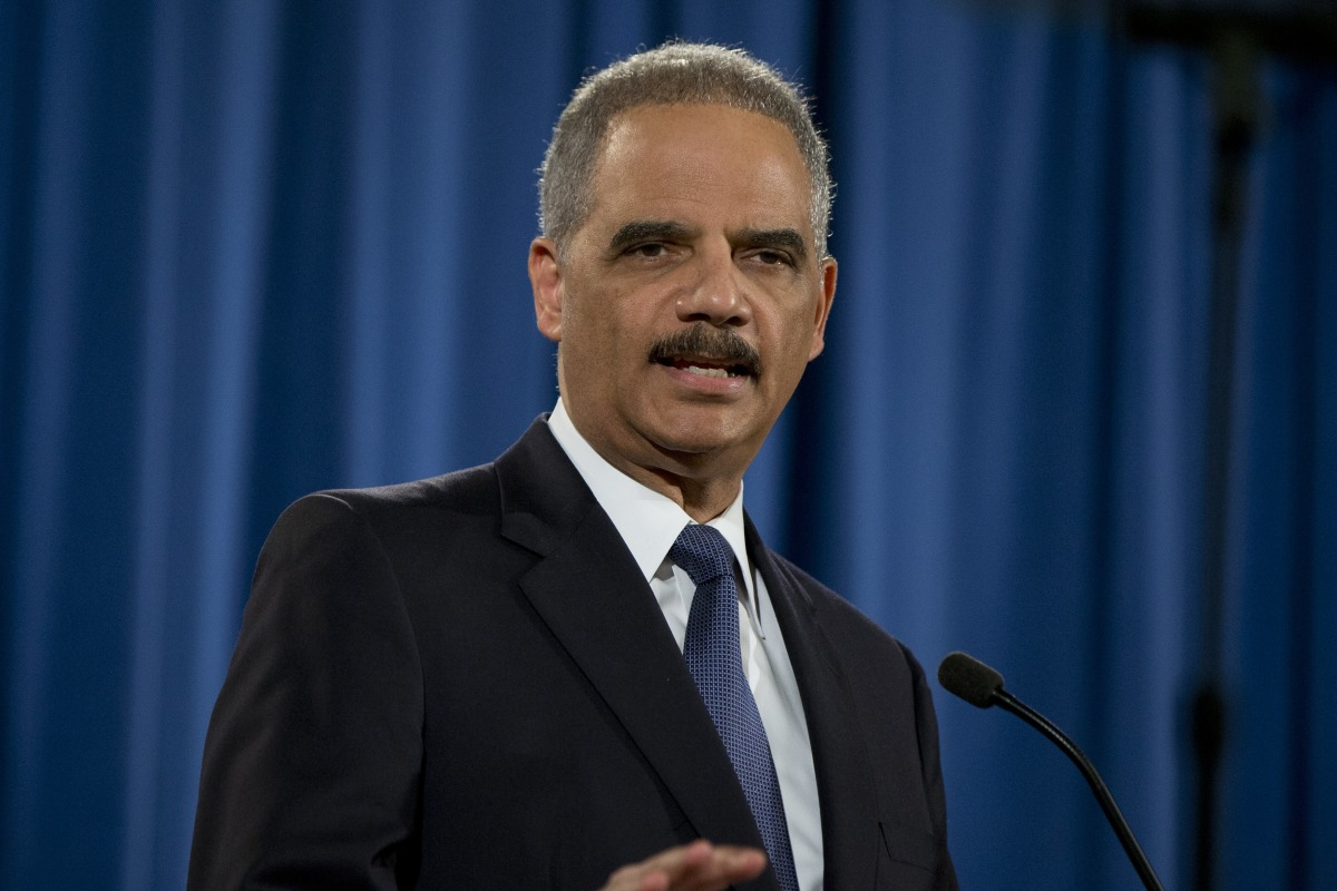 Eric Holder Hired by California for Legal Battles Against Trump - NBC ...
