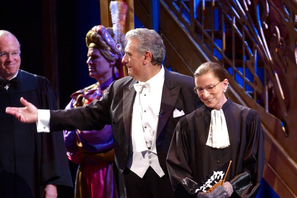 Ruth bader ginsburg to make opera debut with washington d c production nbc news - Gutschein bader dezember 2016 ...