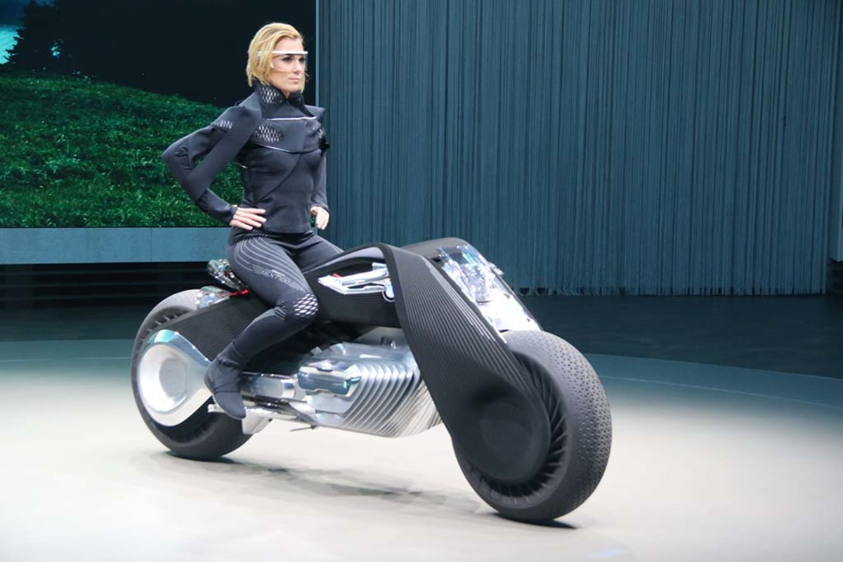 Bmw Unveils A Motorcycle Straight Out Of Tron Nbc News
