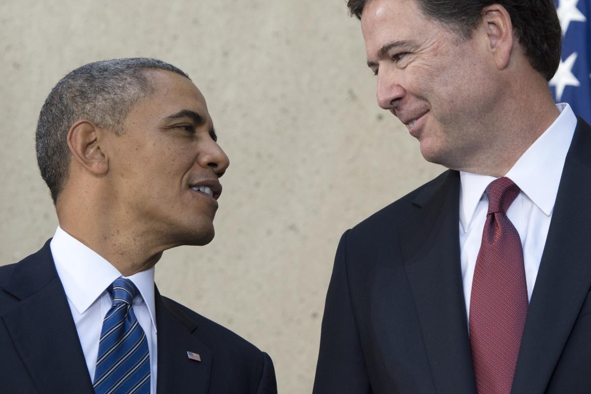 Image result for obama comey
