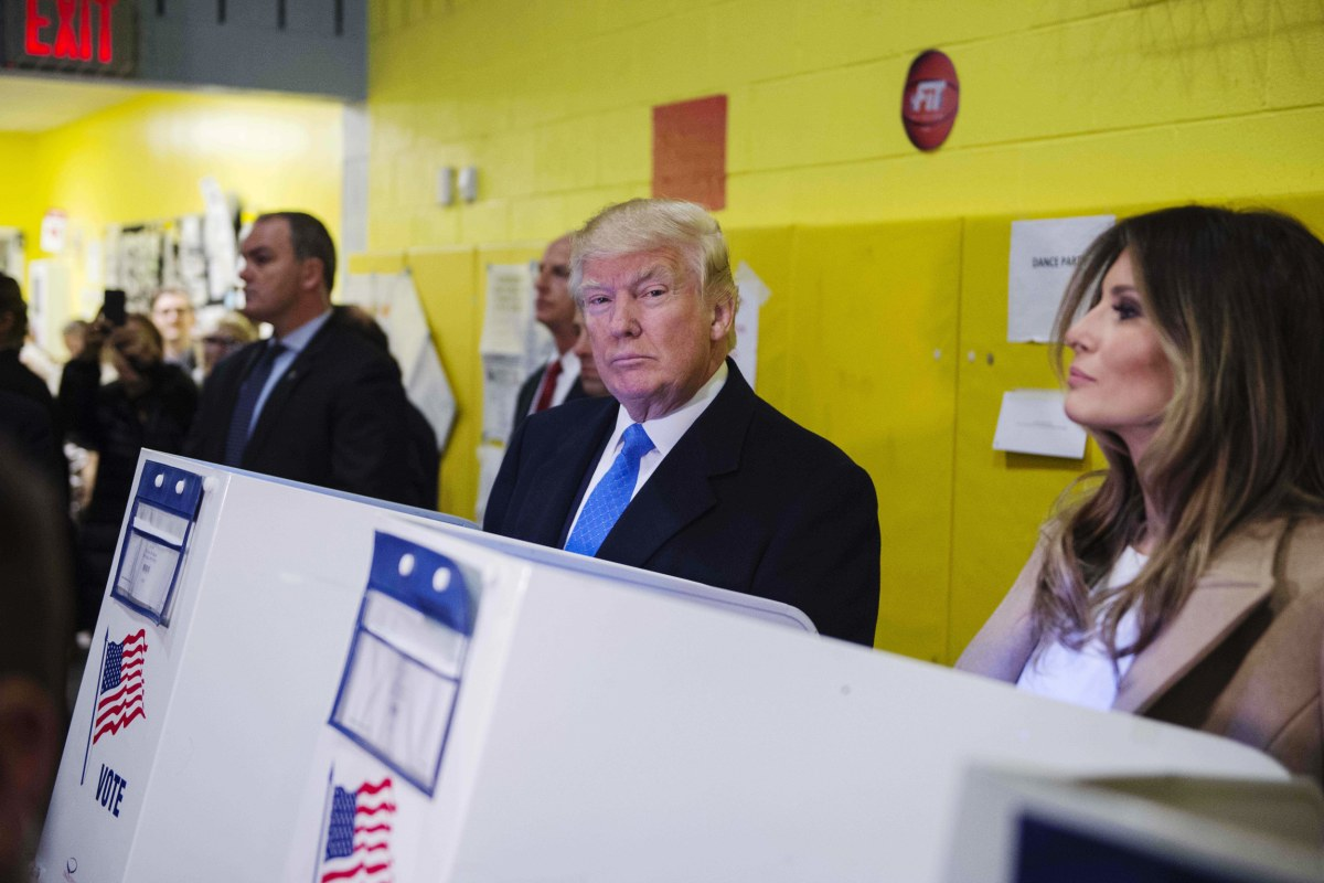 story news politics onpolitics donald trump melania ballot voting
