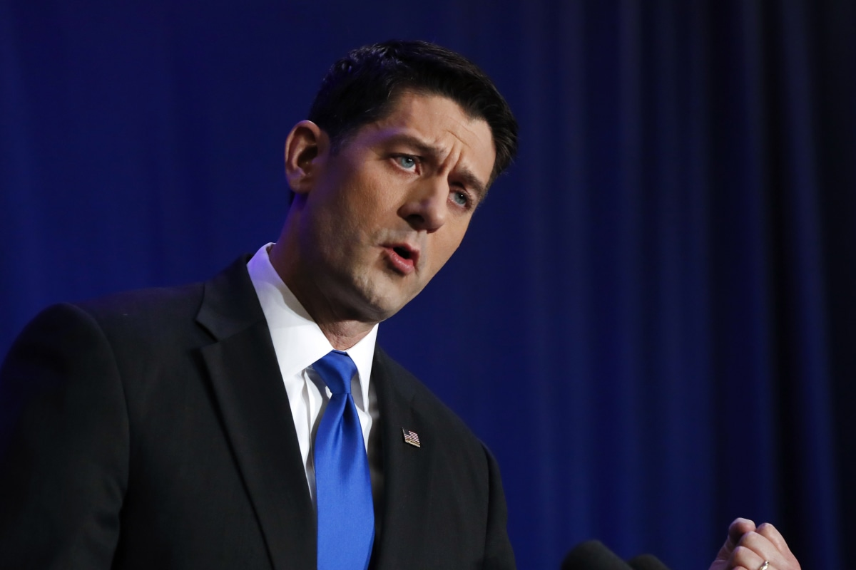 Paul Ryan: Trump Achieved 'An Enormous Political Feat ...