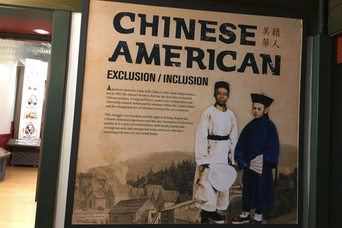 the history of chinese immigration to america
