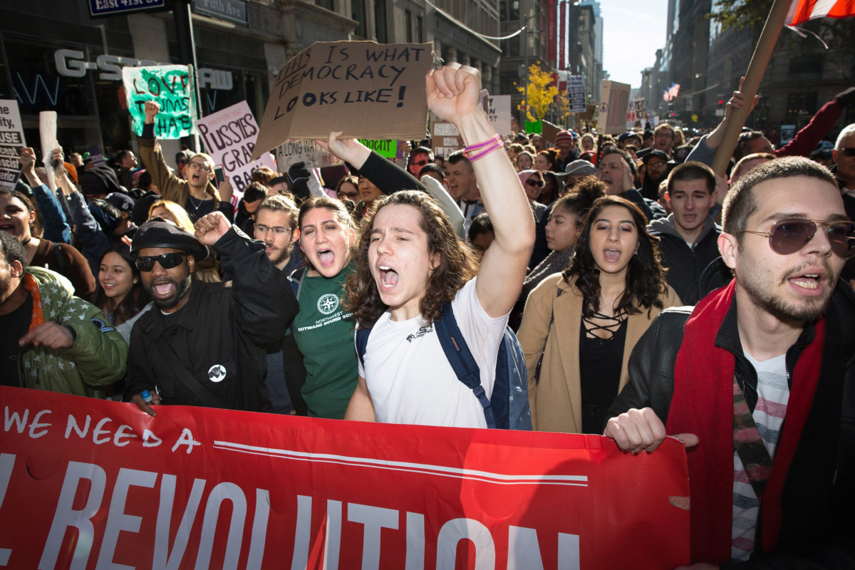 Protest News: Anti-Trump Protests: 1 Shot After 'Confrontation' In
