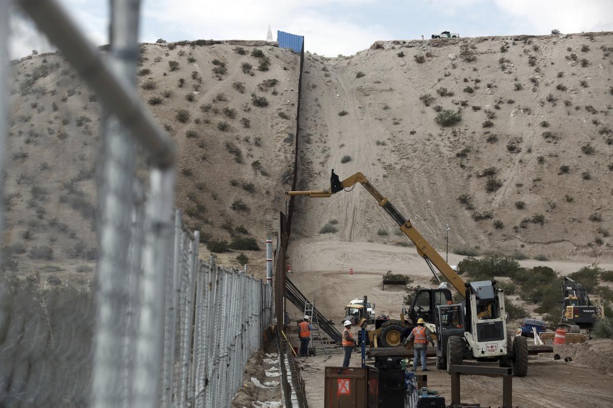 Donald Trump Says Border Wall May Be Part Fence, Hints at Mass ...