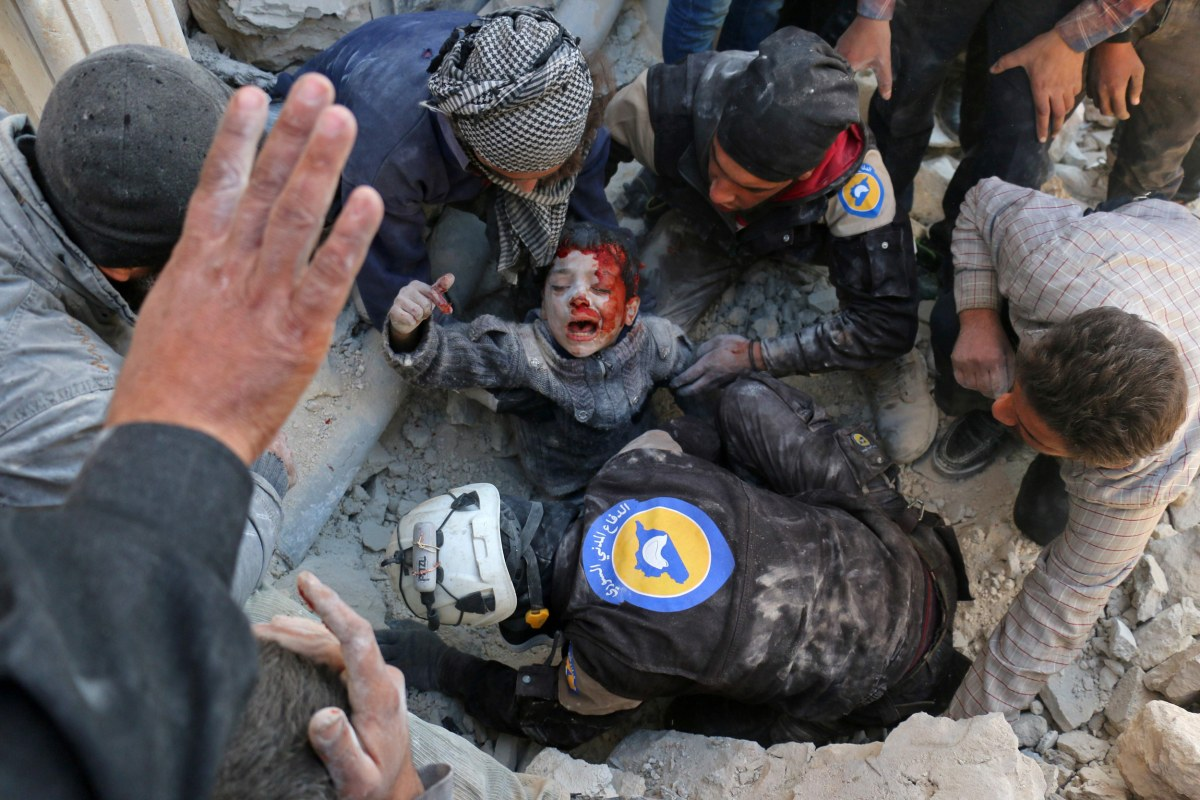 Will not surrender: Syrian White Helmet describes Aleppo siege