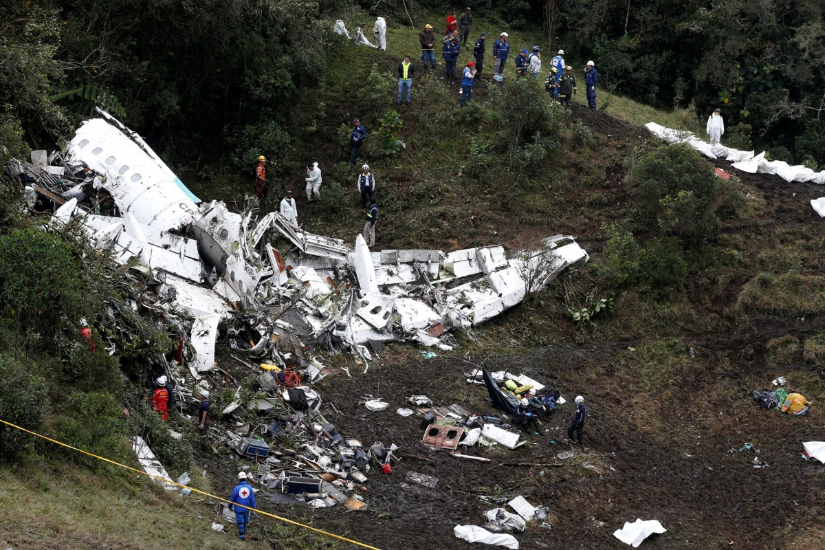 Doomed Brazilian soccer team plane ran out of fuel: reports