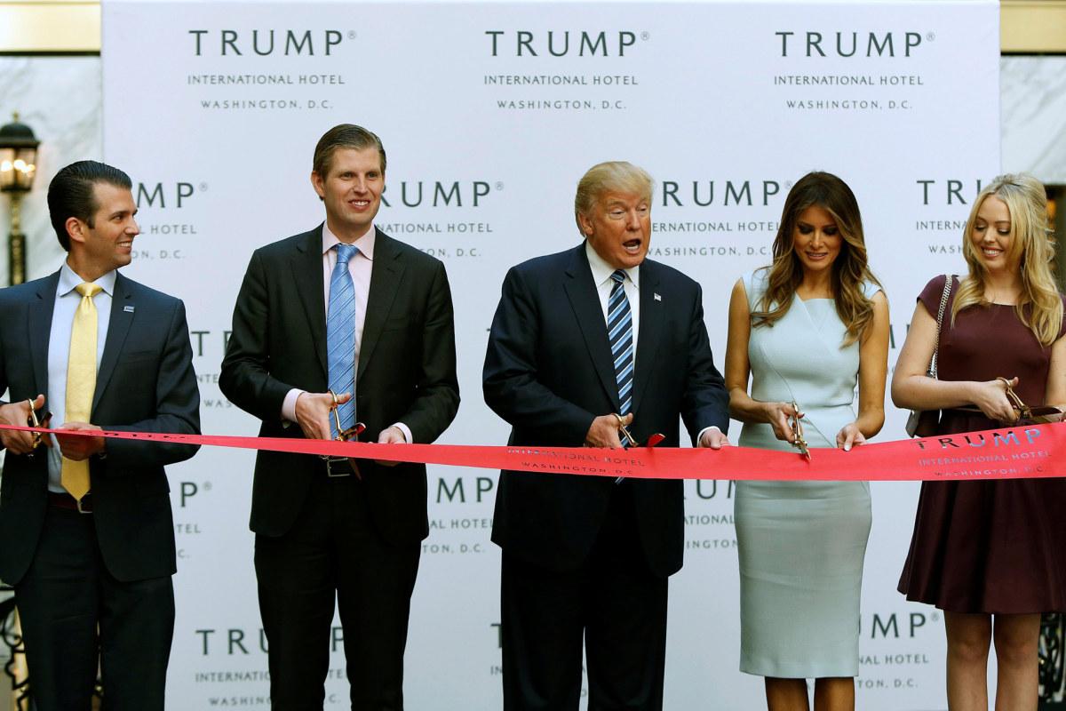 lifestyle family meet trumps white house business lyakdez