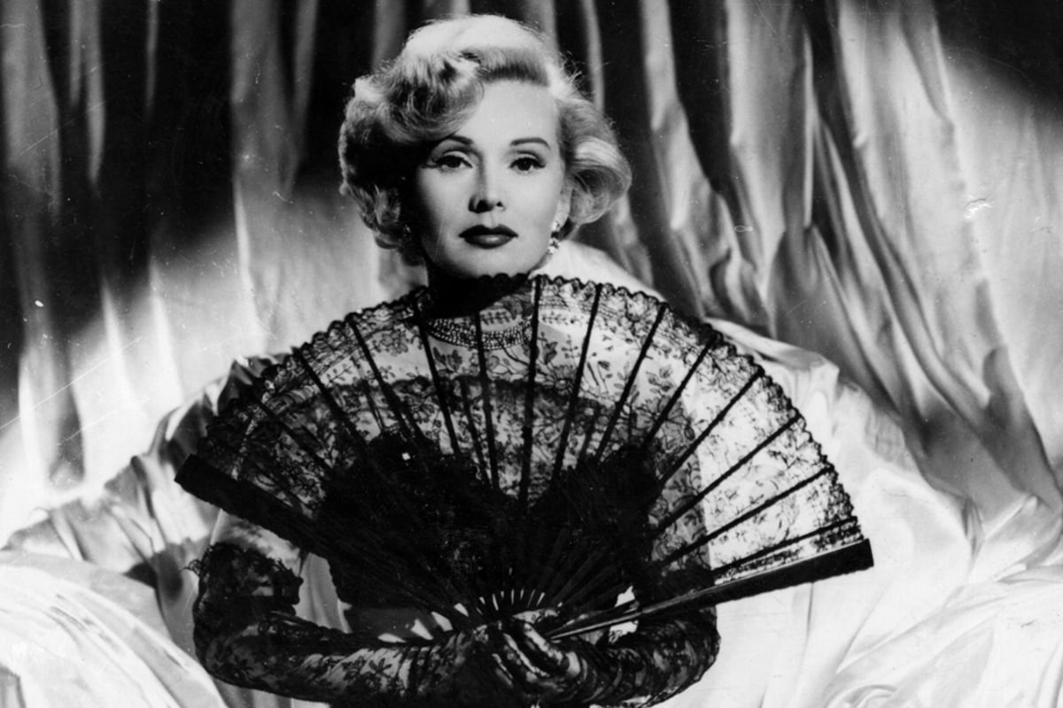 Zsa Zsa Gabor The Prototype Of The Famous For Being