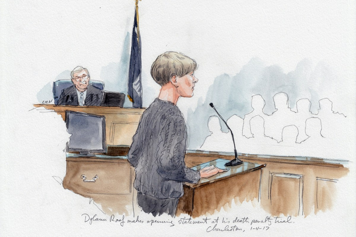 Dylann Roof Tells Jury There Is Nothing Wrong With Me