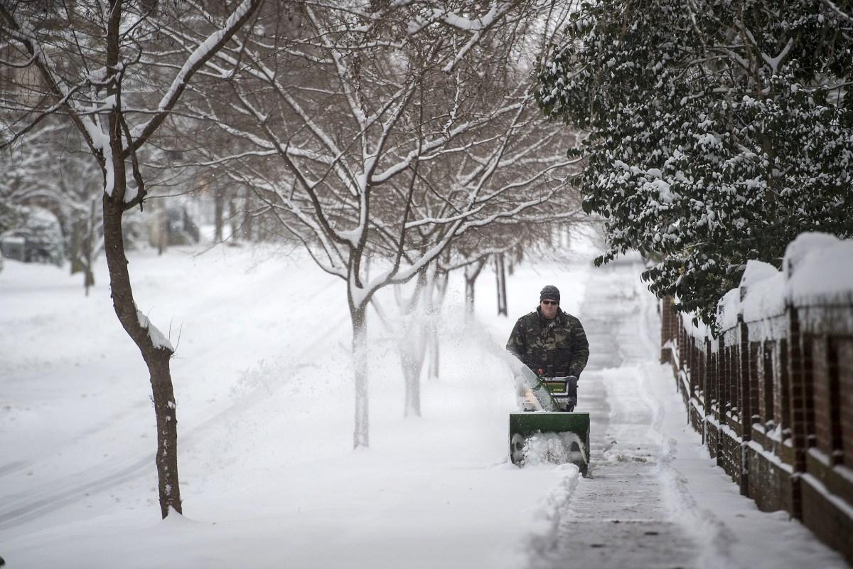 monster winter storm cripples south kills four across u s nbc news
