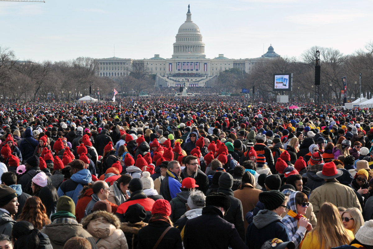 How Huge Will It Be? How Inauguration Crowd Sizes Are Estimated ...