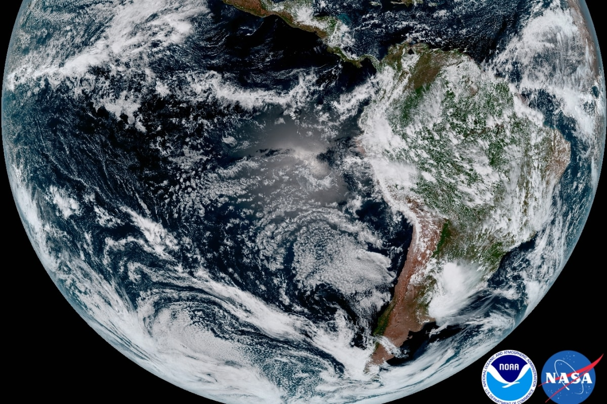 NOAAs New Satellite Reveals Earth In Stunning Detail NBC News - Satellite pictures of earth