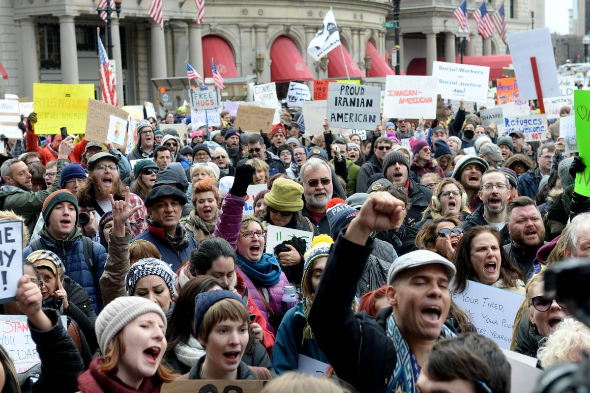 Protests Erupt Nationwide For Second Day Over Trump S