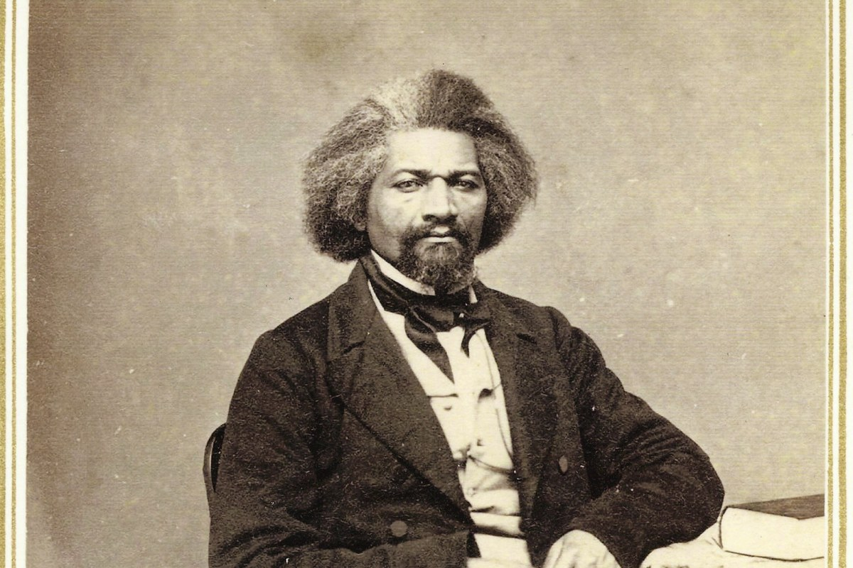 questions on frederick douglass Frederick douglass was born frederick bailey how did he acquire the name douglass after he escaped, wanting to fly more under the radar, he decided to change his surname and his host in new bedford was reading this poem which supplied the name.
