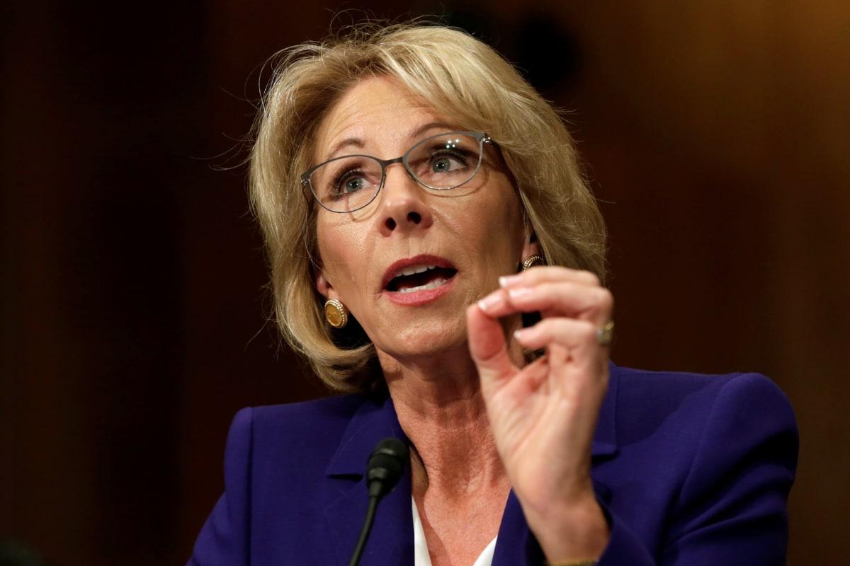 Why Betsy DeVos is Riling up Education Advocates - NBC News