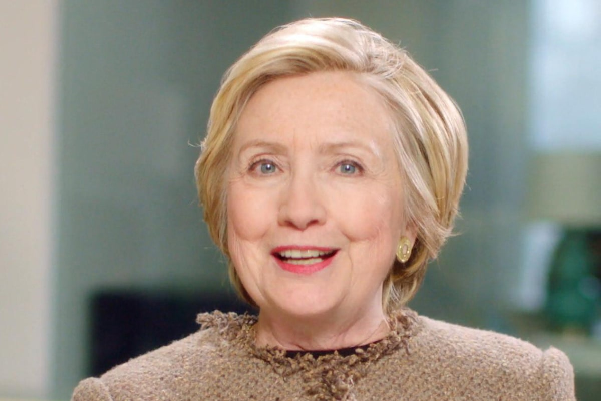 Hillary Clinton Draws Cheers and Criticism for 'Future Is ... Hilary