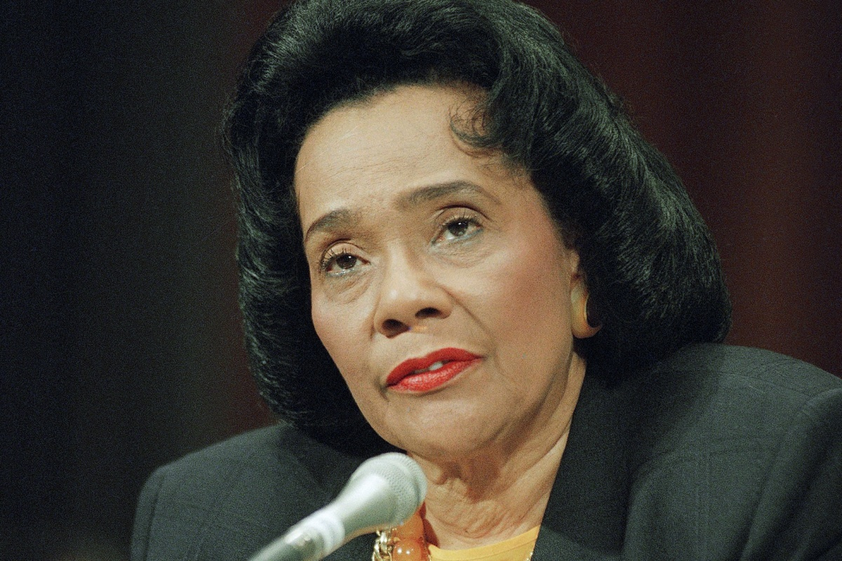 coretta scott king Coretta scott king was not just the wife of the late civil rights icon martin luther  king jr she was also an accomplished activist in her own right.