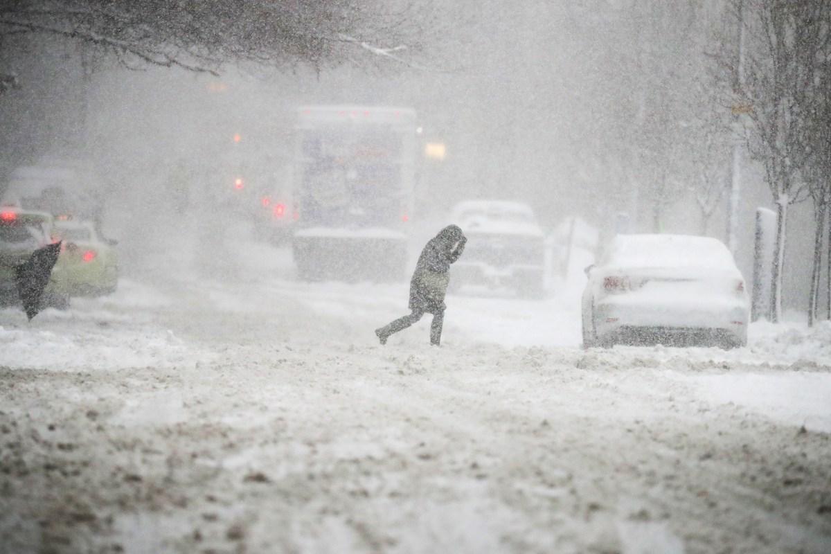 northeast faces ice danger after winter storm dumps snow nbc news