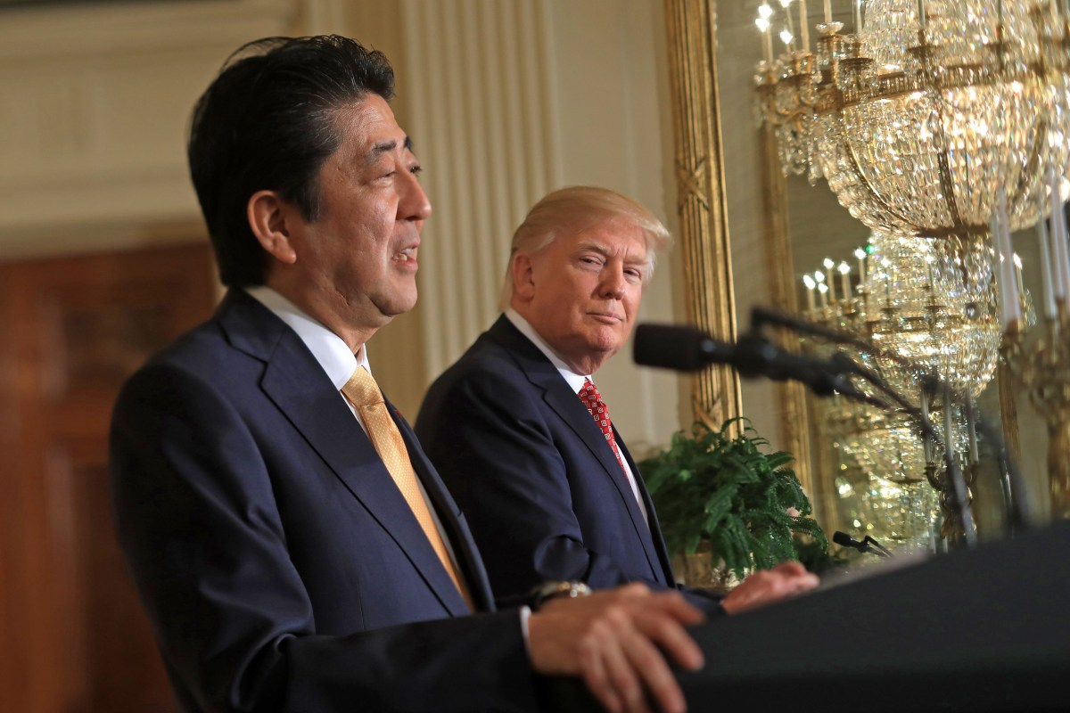 President Trump Praises Japan-US Alliance, Vows Militaries Will 'Be Impenetrable'