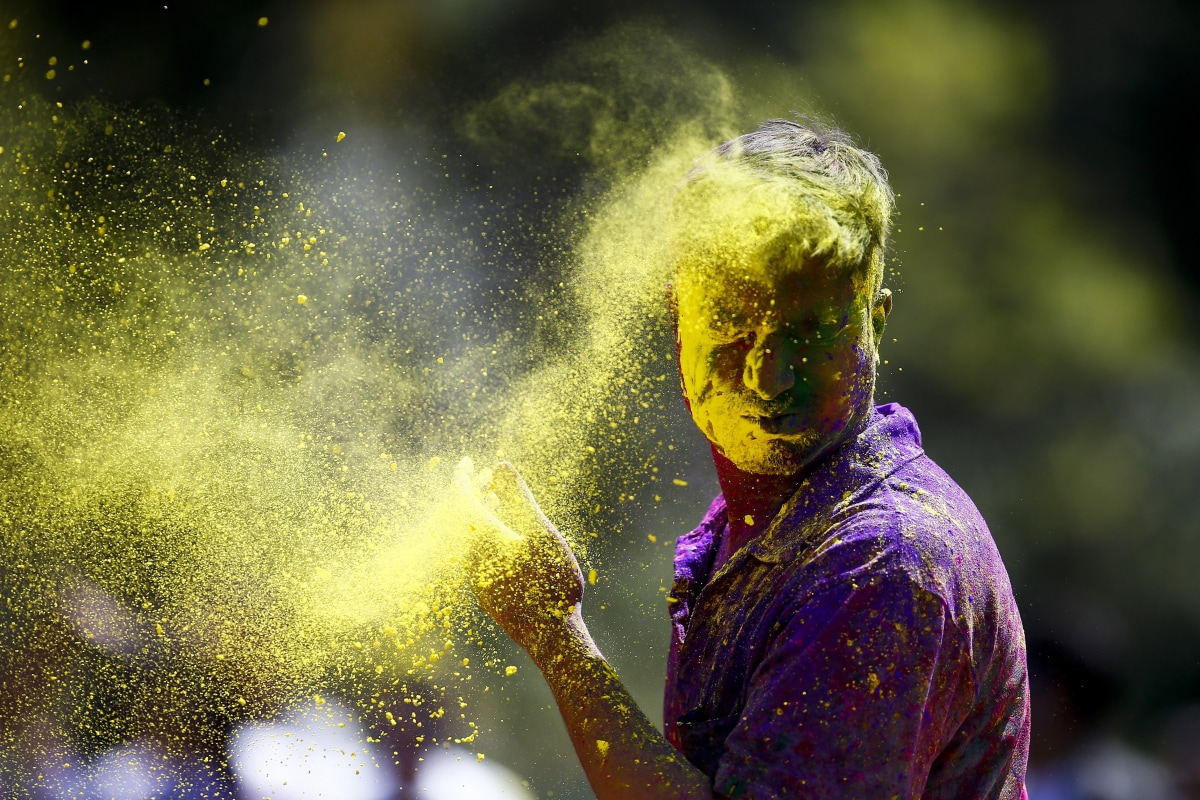 Holi Celebrations Bring Colorful Welcome to Spring - NBC News
