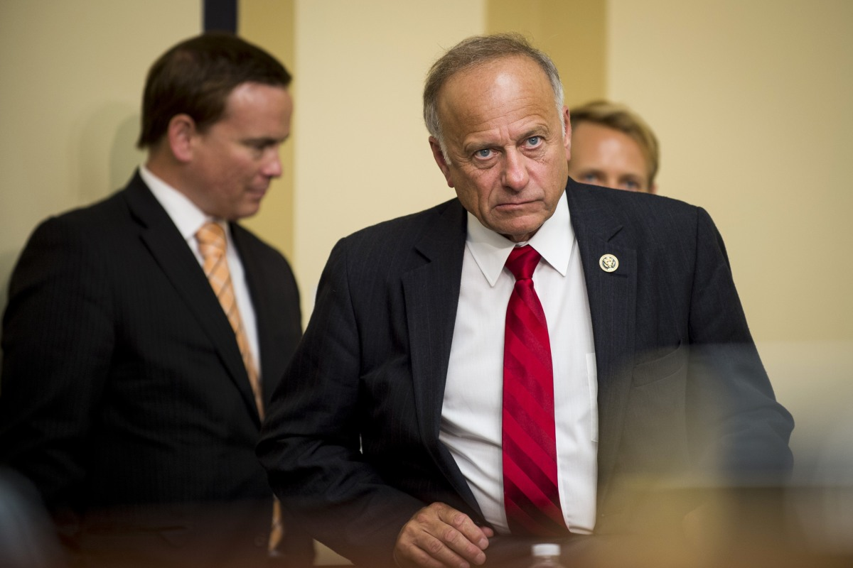 Rep. Steve King Defends 'Somebody Else's Babies' Remarks