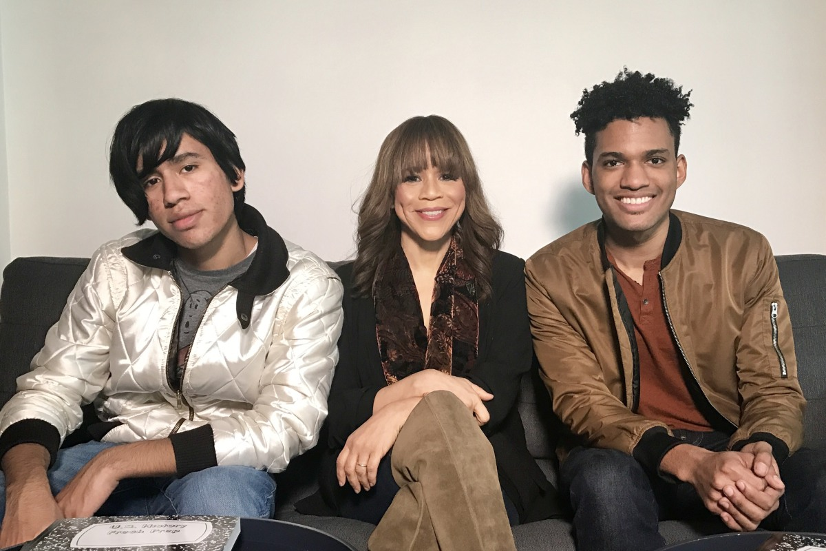 Rosie Perez, Urban Arts Continue to Fight for Arts Education for Underprivileged Students - NBC News