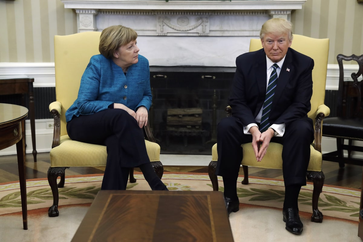 Image result for merkel trump