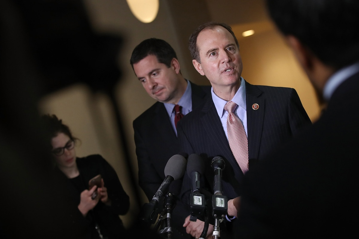 "Top Intel Democrat: 'Circumstantial evidence of collusion' between Trump and Russia | ""There is circumstantial evidence of collusion. There is direct evidence, I think, of deception and that's where we begin the investigation."""