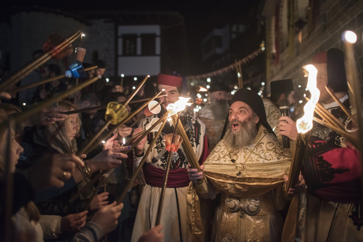Christians Around The World Mark Easter Holiday Nbc News