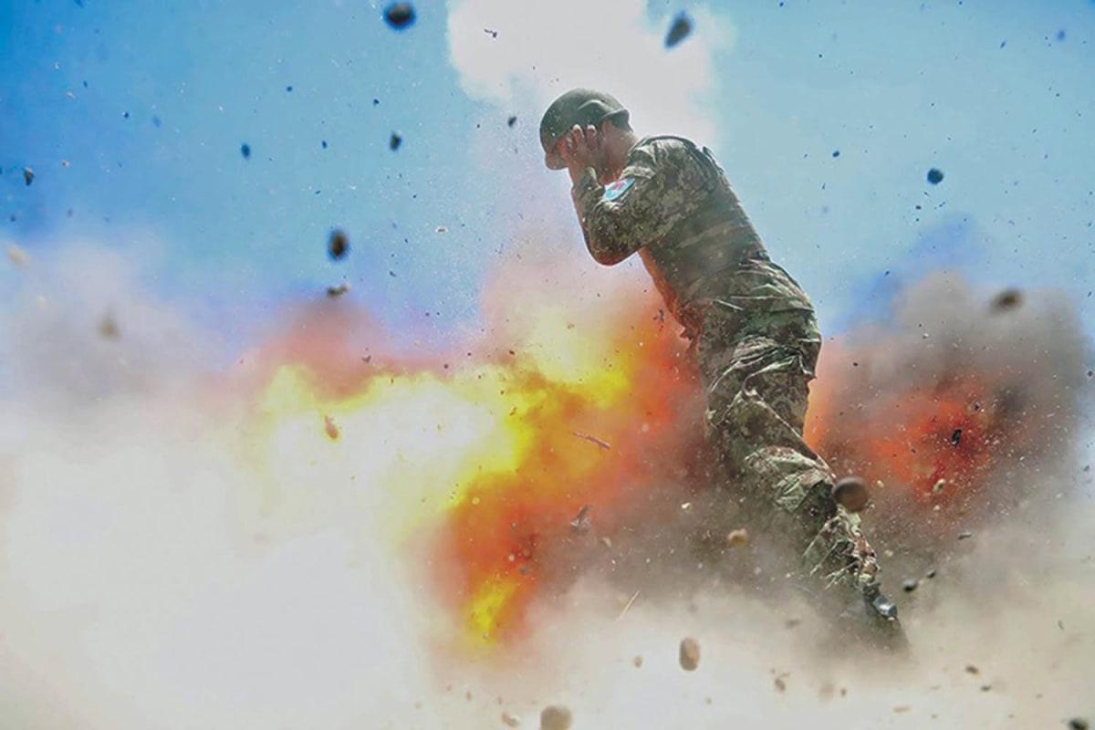 image spc hilda i clayton last image of mortar exploding