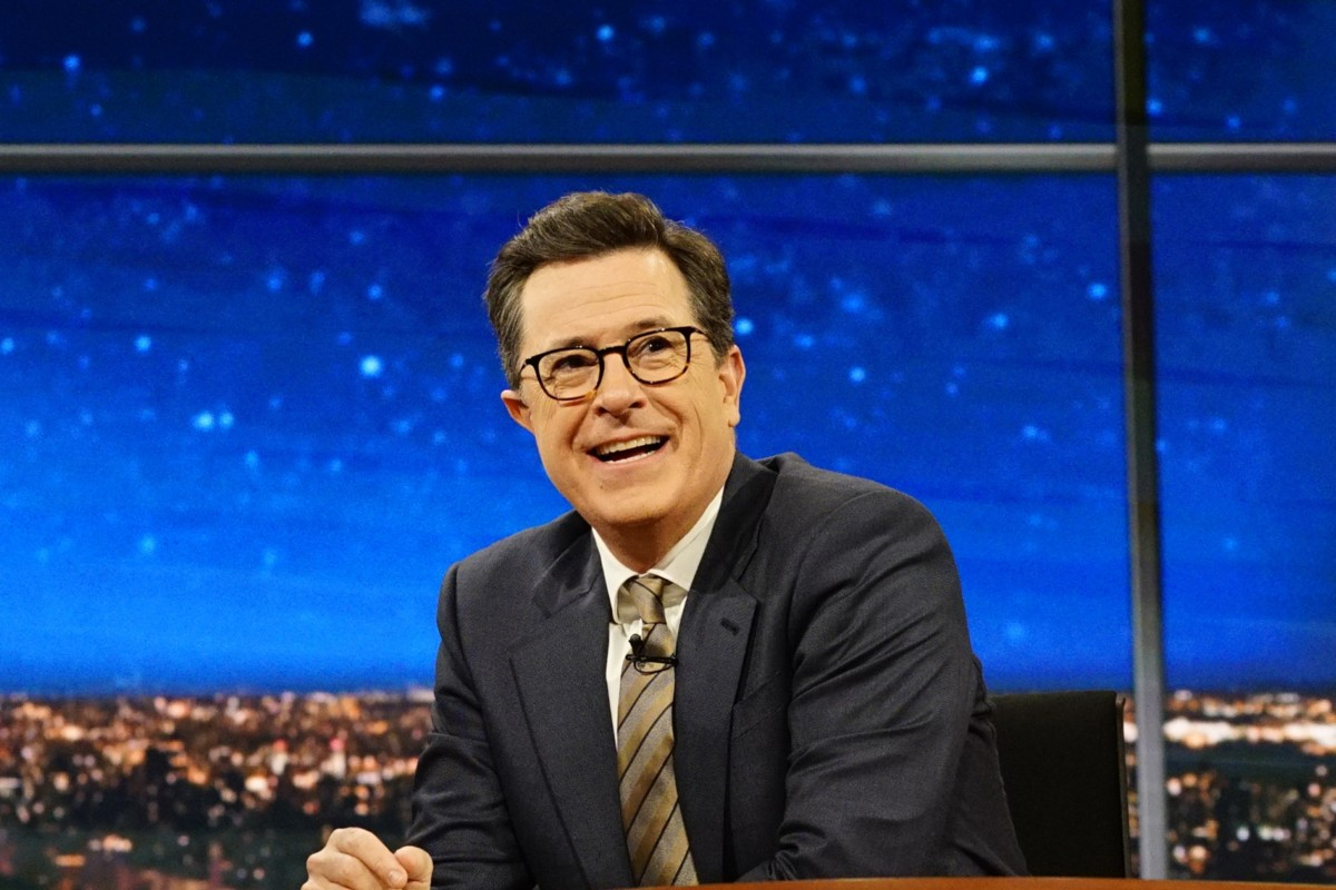 Stephen Colbert Defends Donald Trump Jokes After ... Stephen Colbert
