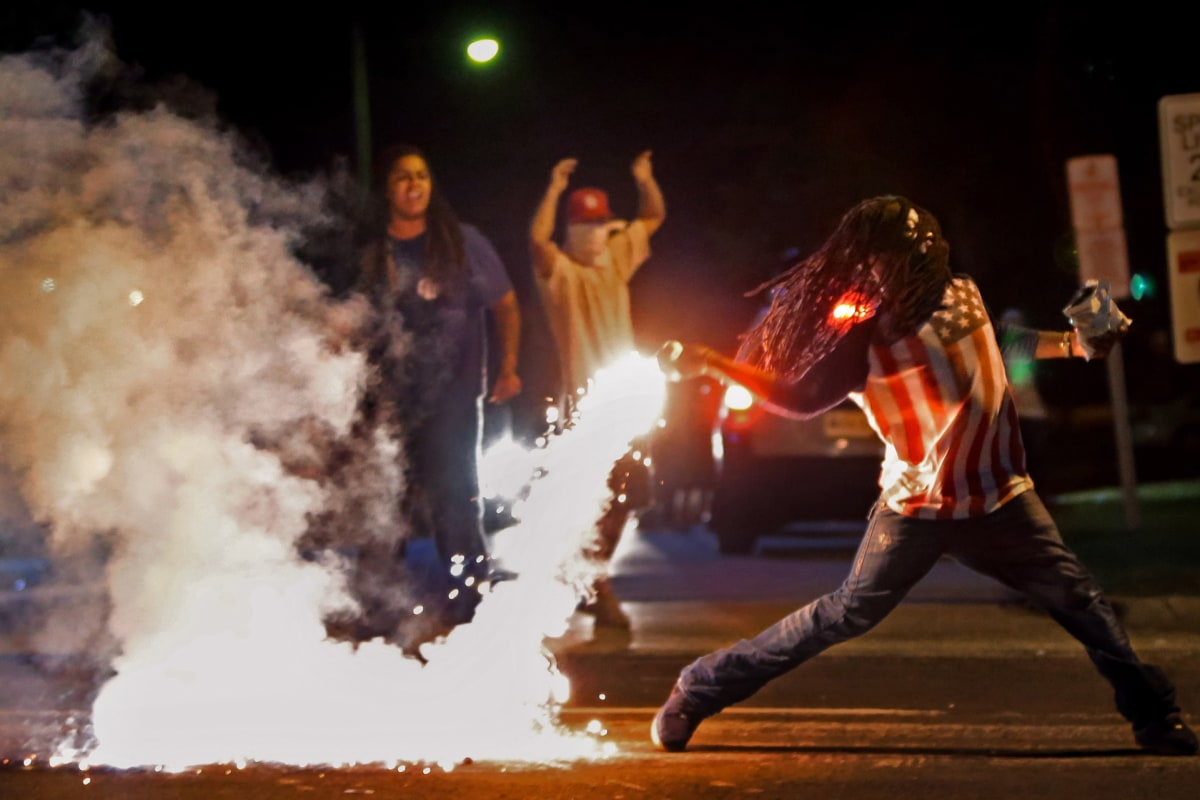 Ferguson Protester From Iconic Photo Found Dead General News Newslocker