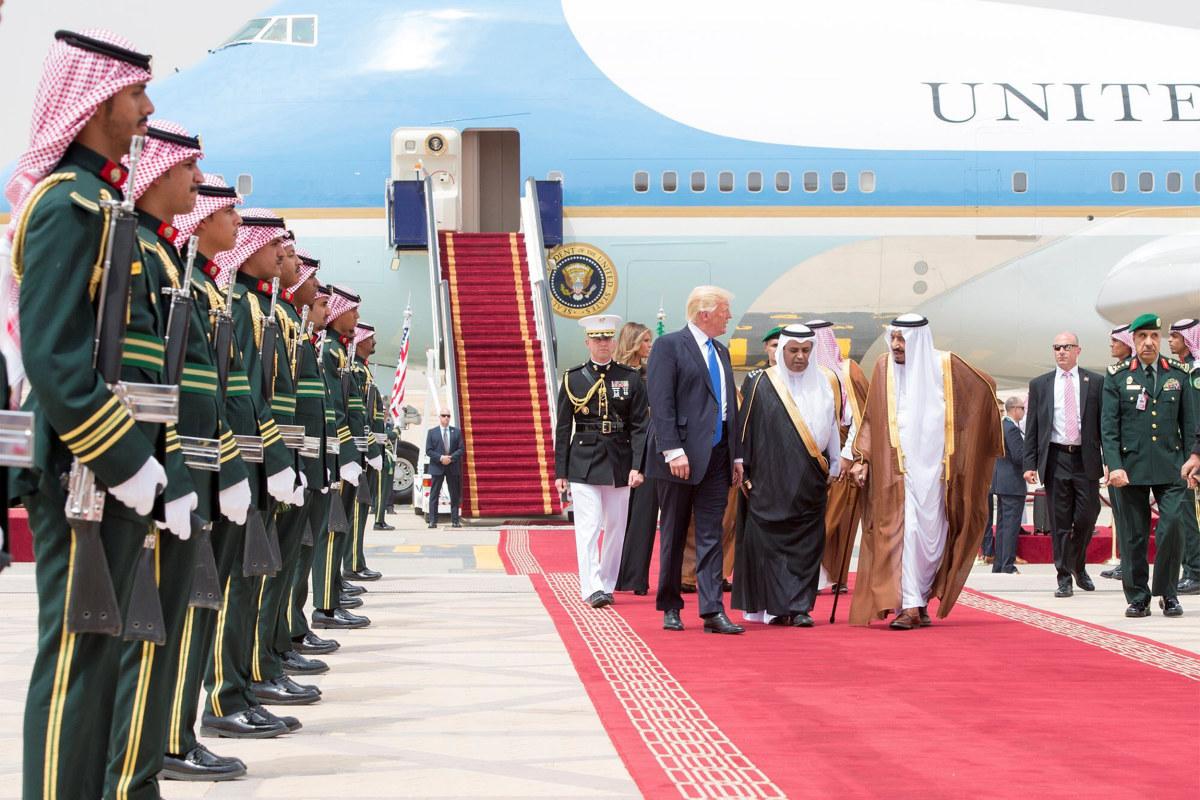 Image result for donald trump visit to saudi