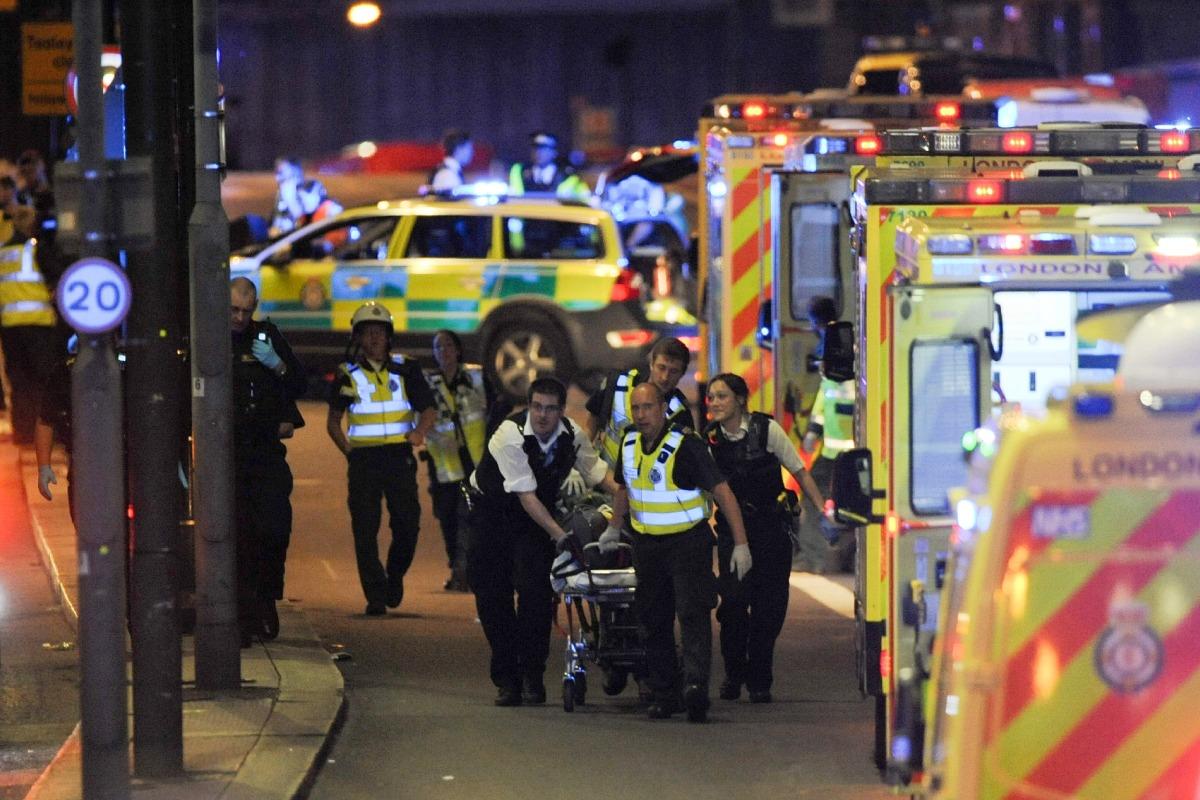 London Bridge Attack: Van Collision, Stabbings Called ...