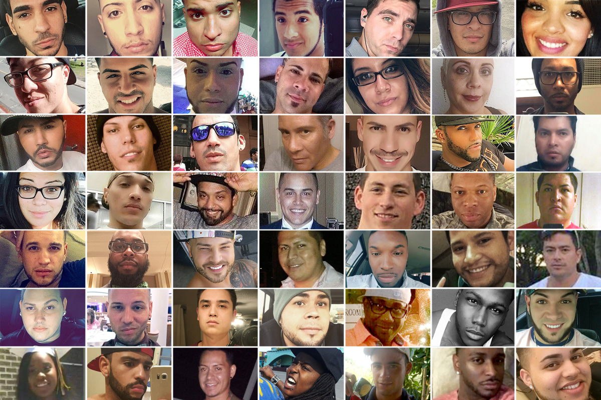 Victims of the Pulse Masacre