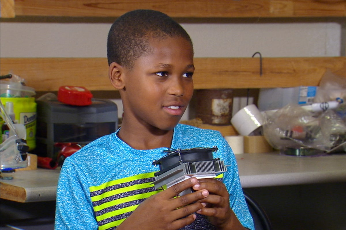 11 year old texas boy invents device to prevent hot car deaths nbc news