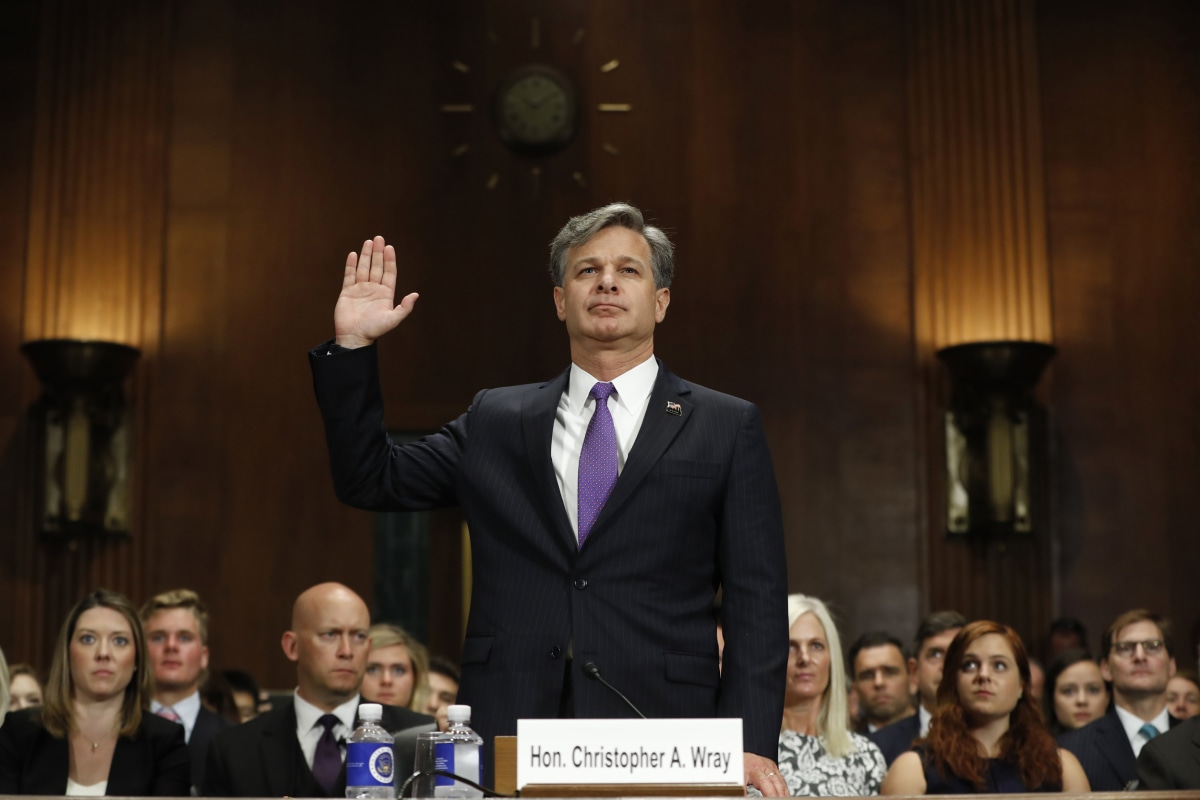 Wray Says Russia Probe Not a 'Witch Hunt,' Pledges 'Independent' FBI – NBCNews.com