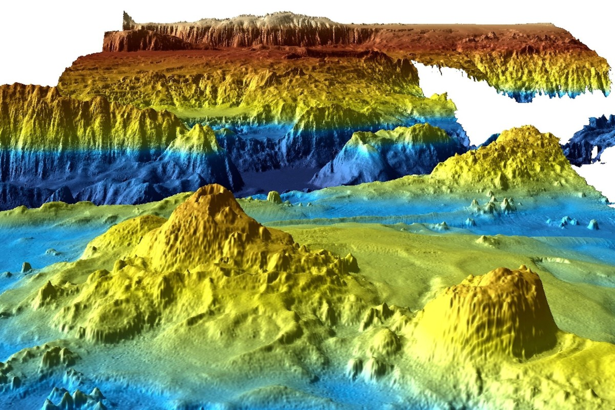 Mh370 Search Data Published Reveals Ocean Geology