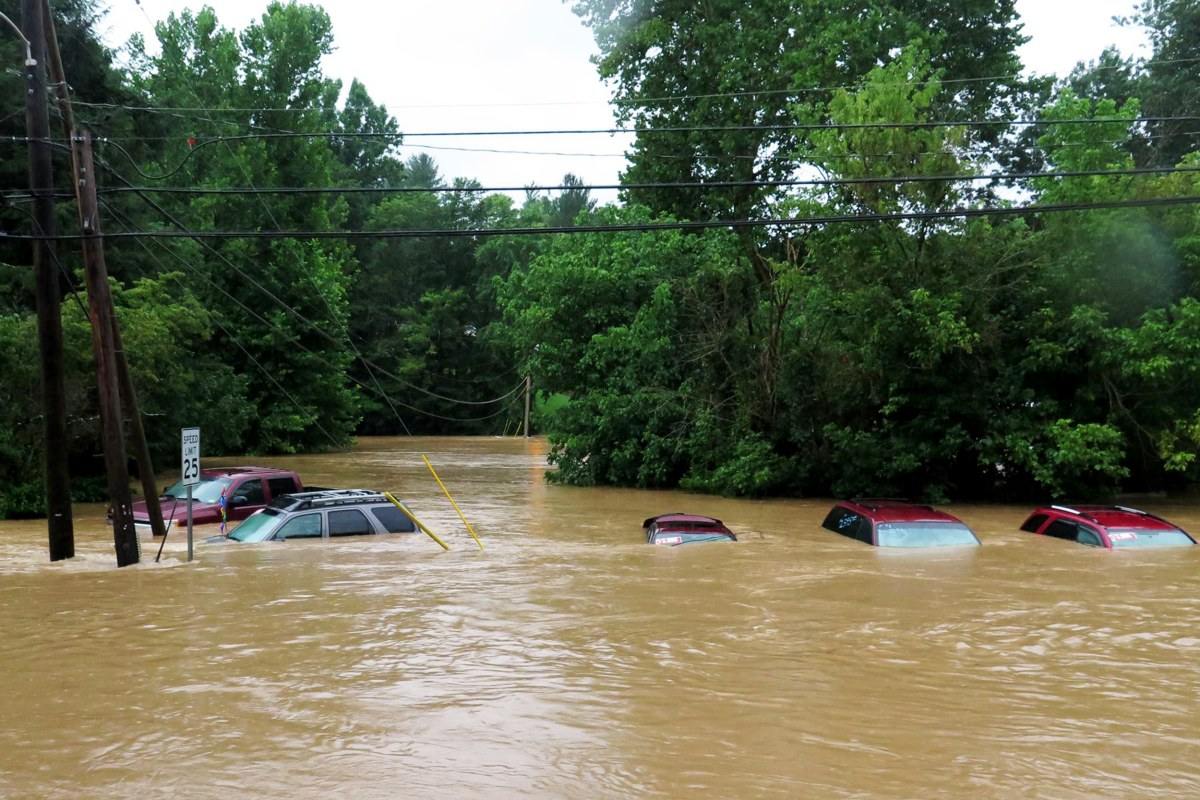 Unusual Summer Storm Creates Flash Flooding, Sparks ...