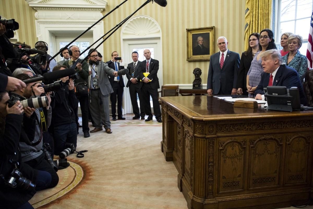 Fake News Trump Launches 39 Real News 39 Series Nbc News