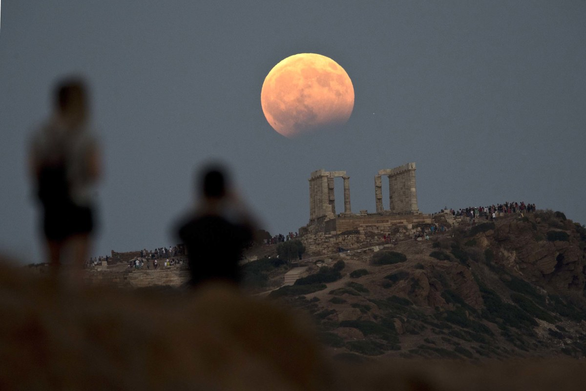 Stargazers Enjoy Lunar Eclipse Across Parts Of Europe And